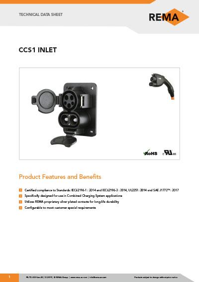 Datasheet CCS1 Inlet