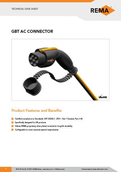 Datasheet GBT Connector